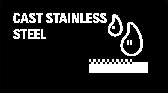 Steinless steel castings