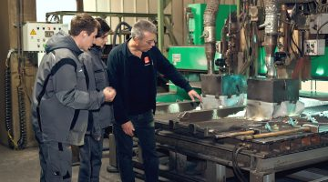 Vocational training and placements for school students